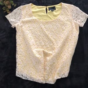 Cynthia Rowley Lace blouse
